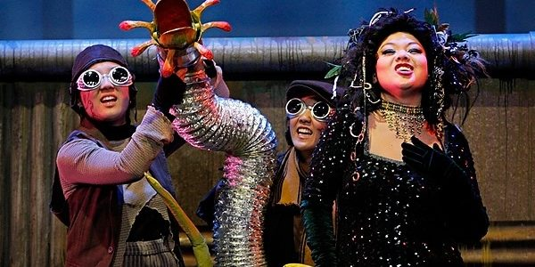 little shop of horrors at mu performing arts