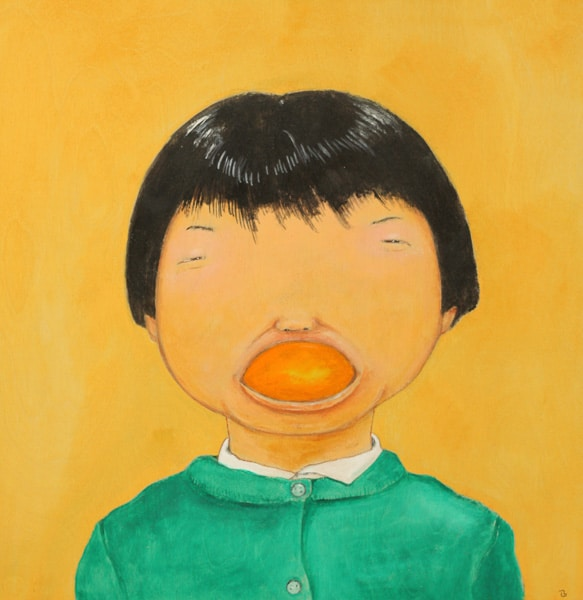 Girl with an Orange Peel (2015) Masanari Kawahara