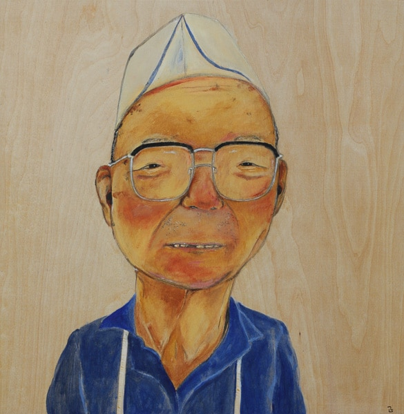 Man at a Japanese Delicatessen (2015) Masanari Kawahara