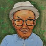 Man with White Hat (2015) Masanari Kawahara