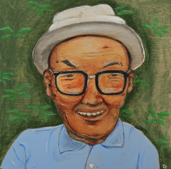 Man with White Hat (2015) Masanari Kawahara