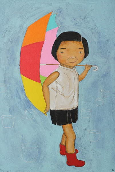 Girl with Umbrella (2015) Masanari Kawahara